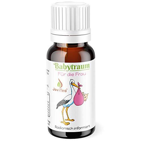 JoviTea® Babytraum Globuli - Homöopathie für die Frau in der Kinderwunsch Phase- traditionell natürliche Rezeptur - Made in Germany 10g