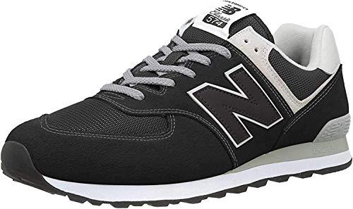 New Balance Herren 574v2-Core Sneaker, Schwarz (Black), 45 EU