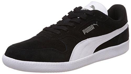 Puma Unisex-Erwachsene Icra Trainer SD Sneakers, Schwarz (black-white), 43 EU