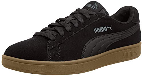 Puma Smash v2, Unisex-Erwachsene Sneakers, Schwarz (Puma Black-Puma Black), 42 EU