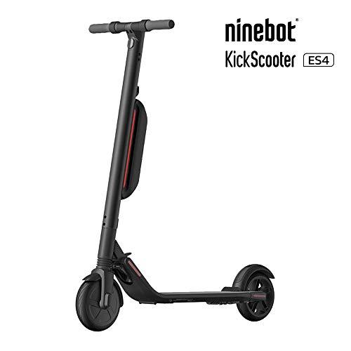 Segway-Ninebot ES4 E-Scooter Elektroroller; Klassenbeste Performance - 30 km/h Höchstgeschwindigkeit und 45 km Reichweite; EU-Modell Mitte 2019 mit zusätzliche Akku; 2 Jahre Garantie