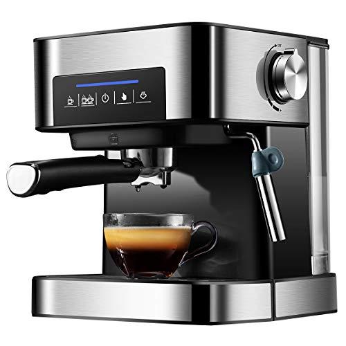 YHM Italienische Kaffeemaschine Kleine Haushaltshalbautomatische Hochdruckdampf Milchaufschäumer Gewerbl