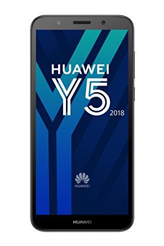 Huawei Y5 2018 Dual-SIM Smartphone 13,8 cm (5,45 Zoll) (3020mAh Akku, 16 GB interner Speicher, Android 8.0) schwarz