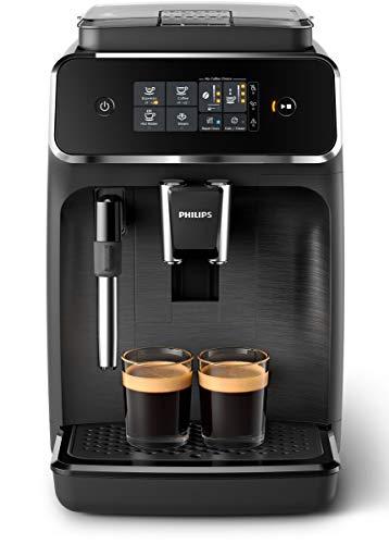 Philips EP2220/10 SensorTouch Benutzeroberfläche Kaffeevollautomat, schwarz/schwarz-gebürstet