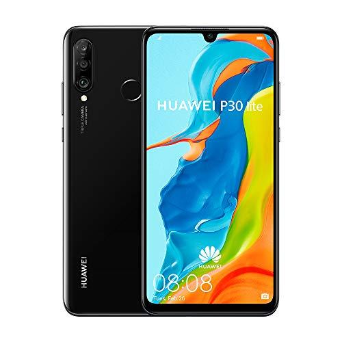 Huawei P30 Lite (Midnight Black) ohne Simlock, ohne Branding, ohne Vertrag