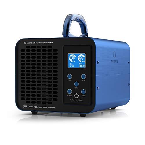 Airthereal MA10K-PRODIGI Digitaler Ozongenerator 10.000 mg/h O3-Maschine Home-Luft Ionisator Geruchsentferner Deodorant, Einstellbare für alle Raumgrößen