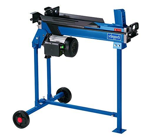 Scheppach 5905206901 Hydraulikspalter / Holzspalter HL650 bis 6,5T | + Untergestell / automatischer Rücklauf / 2 Hand Bedienung / Wartungsarm / Holz 52x25 cm (2200 W / 3 PS / Spaltkraft 6,5 t / 48 kg)