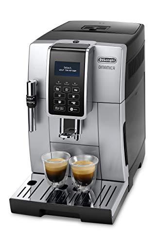 DeLonghi ECAM 350.35.SB Dinamica Kaffeevollautomat Silber-Schwarz