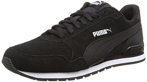 Puma Unisex-Erwachsene ST Runner v2 SD Sneaker, Black Black, 42.5 EU