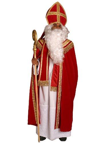 Bischofskostüm komplett Bischof Kostüm Nikolaus Weihnachtsmannkostüm