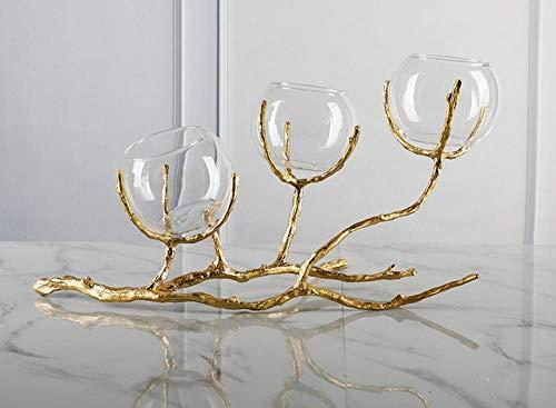 ZYXMX Home Decoration Ornamente Kunst Geschenk Kreative Kunst Und Handwerk Schreibtisch Weinschrank Vitrine Wohnzimmer Tv-Schrank Licht Modell Kristallkugel Dekoration