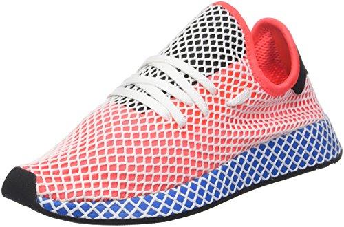 adidas Herren Deerupt Runner Gymnastikschuhe, Rot (Solar Red/solar Red/Bluebird), 36 2/3 EU
