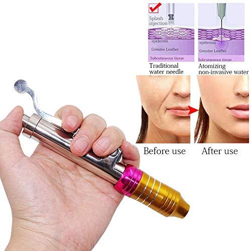 HHYGR Nichtinvasiver Zerstäuber Hyaluronsäure-Spritze zerstäuber Injection Nadelfreier Injektionsstift 0,3 ml zum Antialterung Faltenentfernung Schönheit