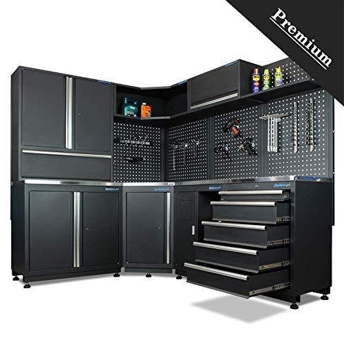 Werkstatteinrichtung PREMIUM 864 (Eckaufstellung)