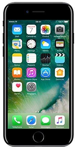 Apple iPhone 7 128GB Diamantschwarz (Generalüberholt)