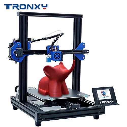 TRONXY Neuer verbesserter 3D-Drucker XY-2 PRO Schnelle Montage Schnelle Installation Automatische Nivellierung Fortsetzung Drucken Power Filament Sensor Vollfarb-Touchscreen 255X255 X 260