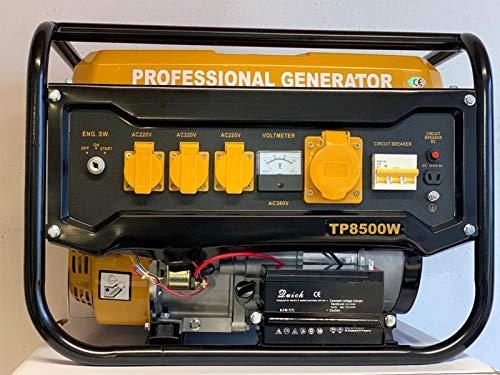 Stromerzeuger Stromgenerator 6.5Hp Generator Agregat TP8500W