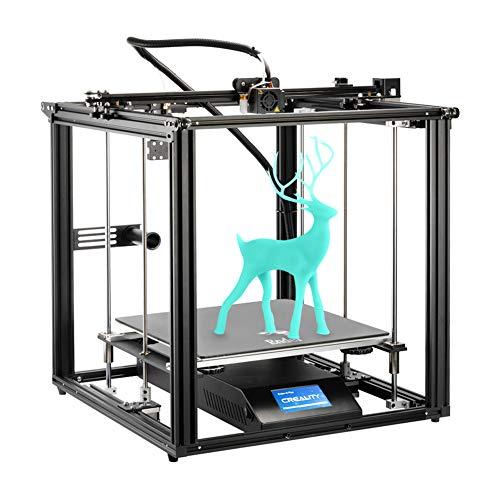 Creality Ender 5 Plus 3D Drucker mit BLTouch, Glasplatte und Touchscreen, Große Druckgröße von 350x350x400mm