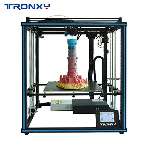 TRONXY X5SA 3D-Drucker DIY Kit Auto Leveling Filamentsensor Resume Print Cube Full Metal Square mit 3,5-Zoll-Touchscreen Große Druckgröße 330x330x400