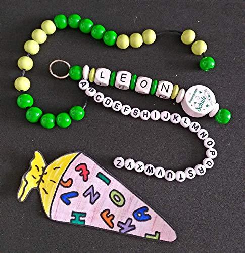 JP Handmade Rechenkette, ABC Kette, Einschulung, Schulanfang, Rechenhilfe