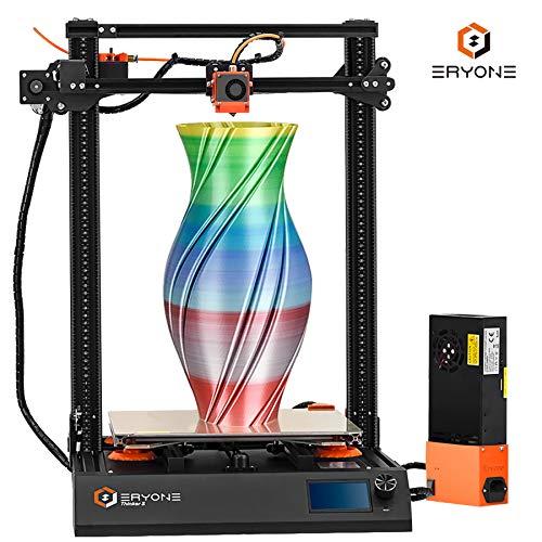 Eryone 3D-Drucker Thinker S 2.0, Super leiser 3D-Drucker mit PEI-Druckoberfläche, TMC2208 300 * 300 * 400 mm Druckgröße, kompatibel mit Auto Leveling Sensor