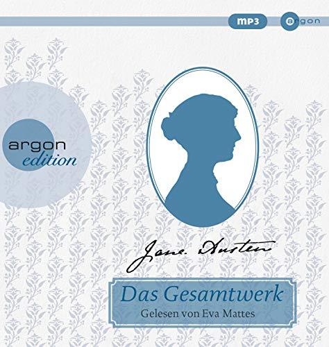 Jane Austen – Das Gesamtwerk: Inhalt: Verstand und Gefühl, Stolz und Vorurteil, Mansfield Park, Emma, Northanger Abbey, Überredung, Lady Susan
