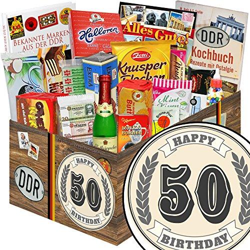 50. Geburtstag / DDR Geschenkkorb / 30 Geburtstag Geschenkeideen