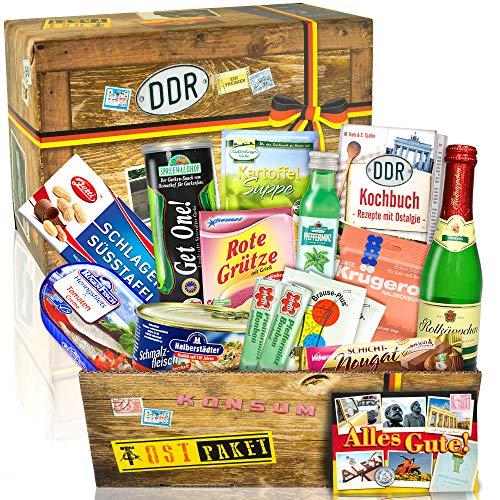 DDR SPEZIALITÄTEN BOX / Geschenkset für Freund zu Geburtstag