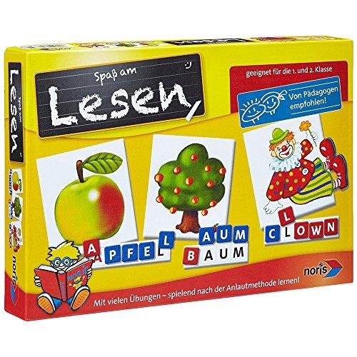 Noris 606076340 606076340-Spaß am Lesen Kinderspiel