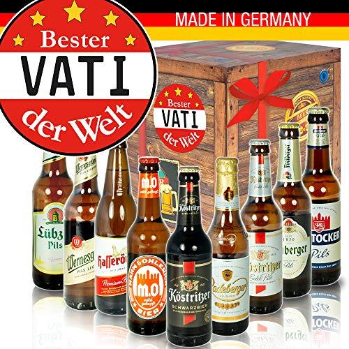 Bester Vati - Ost-Deutsche Biersorten - Geschenkeideen Geburtstag