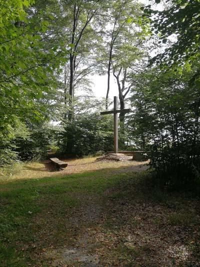 Friedwald Heiligenberg Kreuz