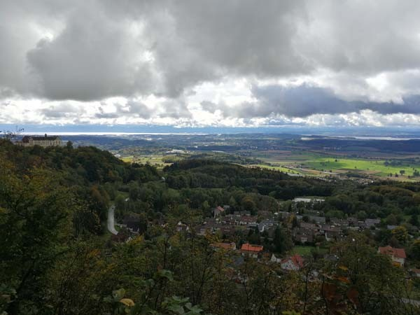 Heiligenberg mit Blick auf den Bodensee