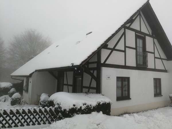 Ferienwohnung am Bodensee Heiligenberg im Winter