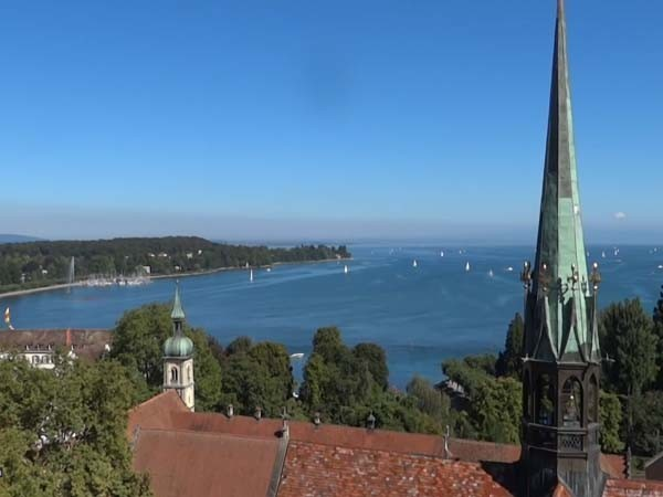 Konstanz Blick auf Bodensee
