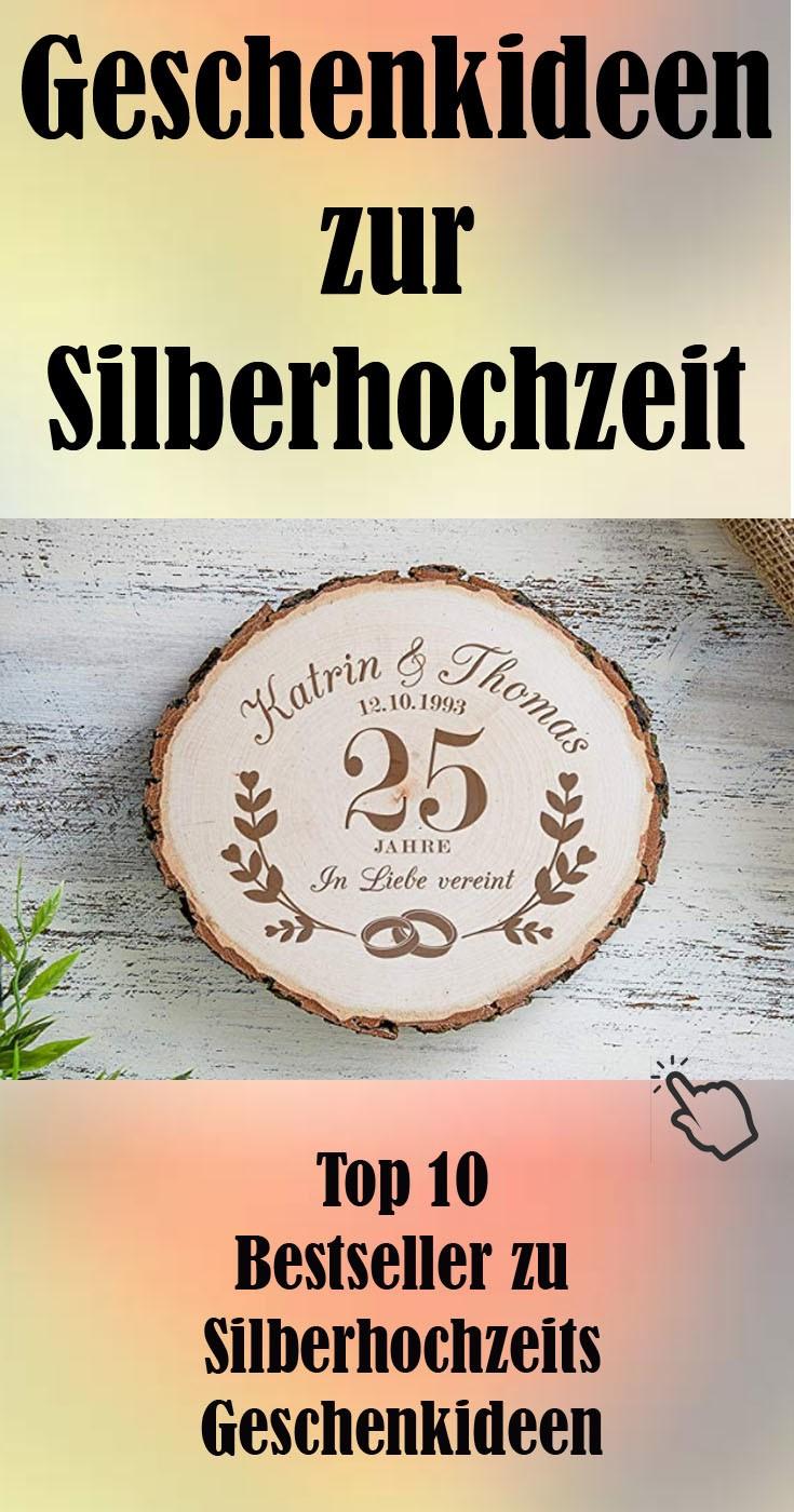 Silberhochzeits Geschenkideen