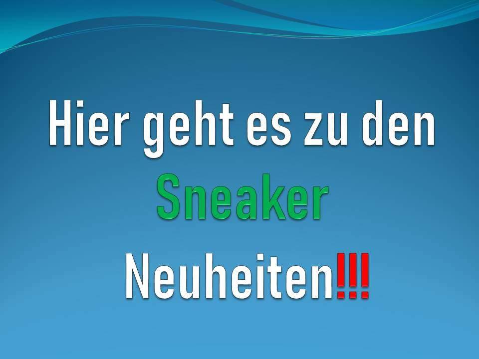 Sneakers Neuheiten