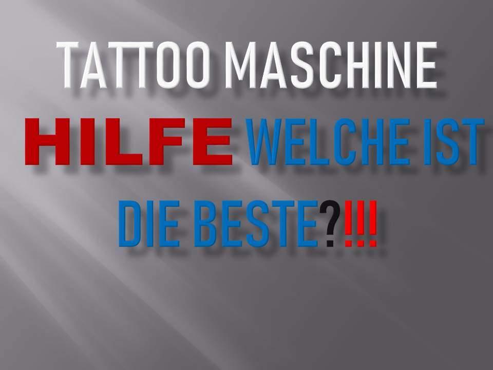 Tattoo Maschine kaufen