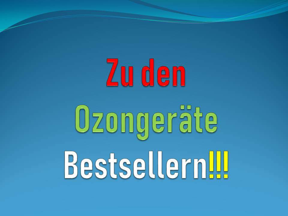 Ozongenerator Bestseller