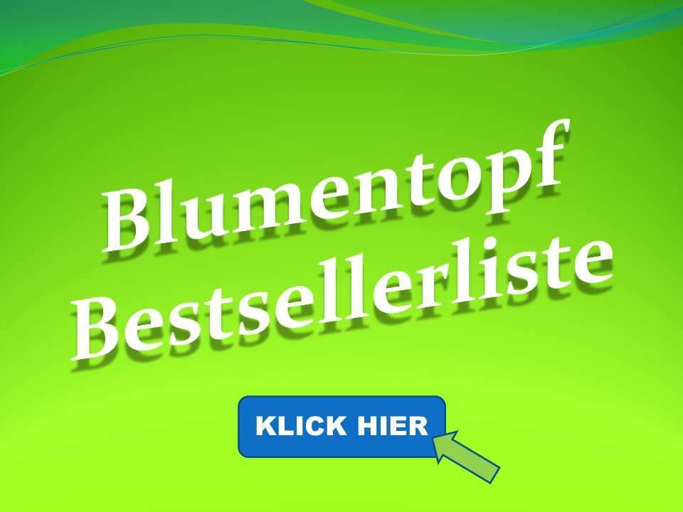 Blumentopf Bestsellerliste
