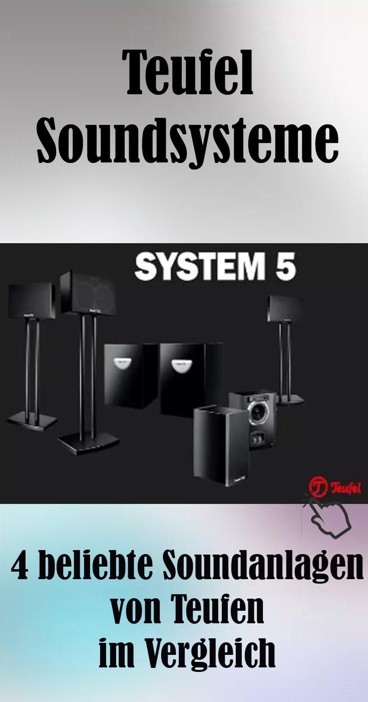 4 beliebte Soundanlagen von Teufen im Vergleich