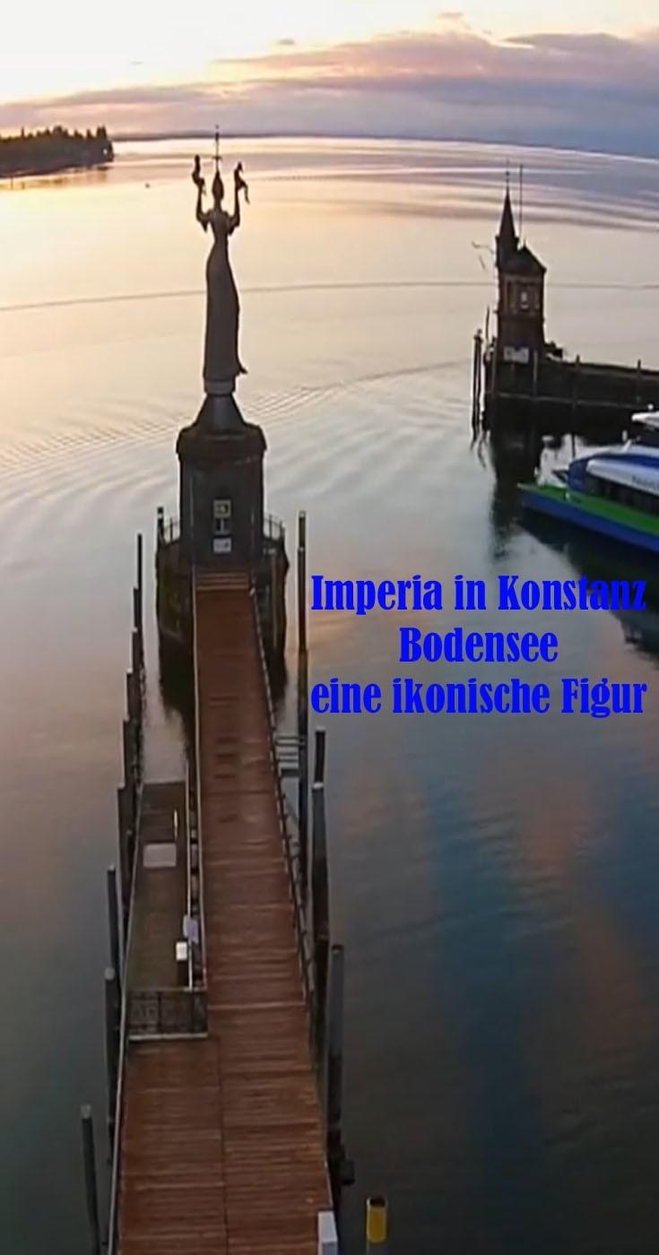 Imperia in konstanz Bodensee eine ikonische Figur