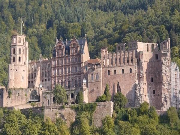 Das Schloss Heidelberg