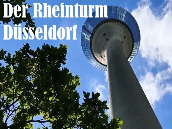 Der Rheinturm Düsseldorf
