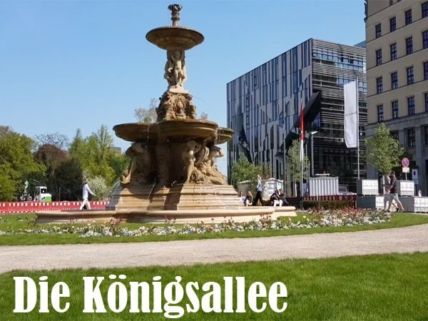 Die Königsallee Düsseldorf