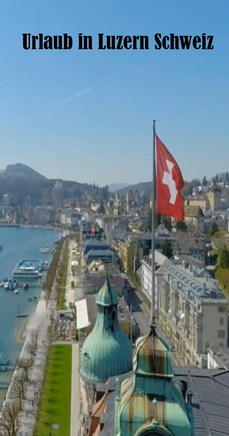 Urlaub in Luzern Schweiz